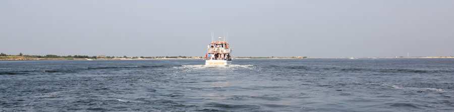 Cruising the Captree Inlet and the Great South Bay on Long Island New York